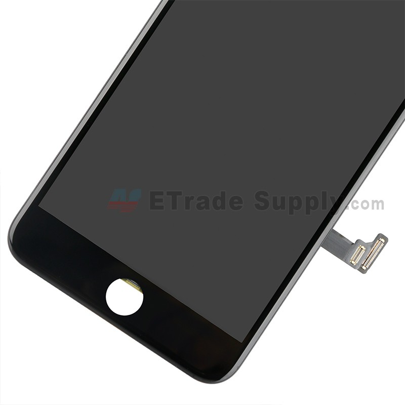 best service 7d290 4bbd4 For Apple iPhone 8 Plus LCD Assembly with Frame and Small Parts Replacement  (No Home Button and With Auto Brightness Function) - Black - Grade R