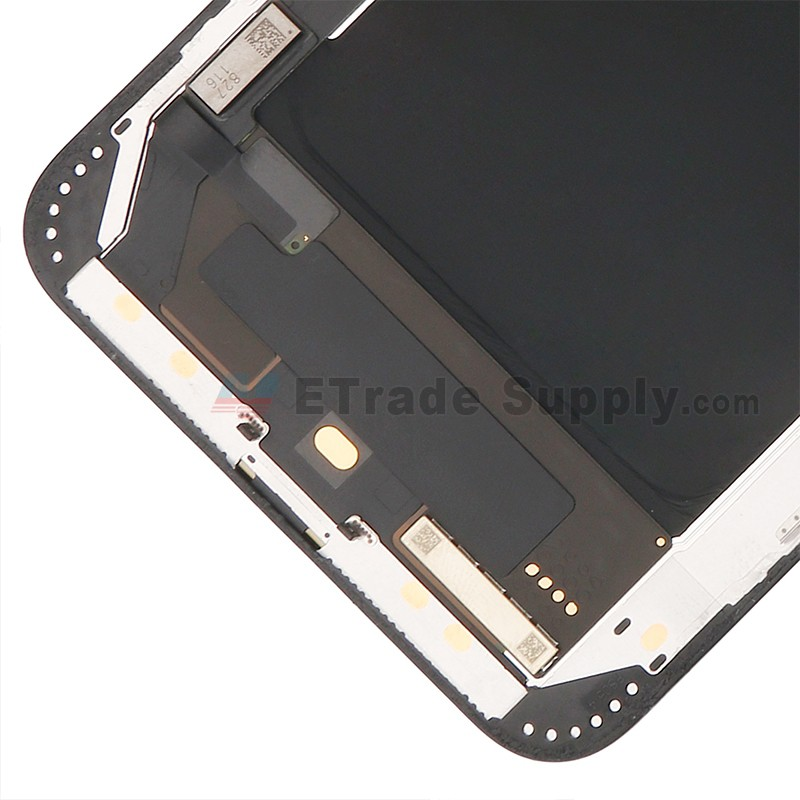 For Apple iPhone XS Max LCD Screen and Digitizer Assembly with Frame  Replacement - Black - Grade S+