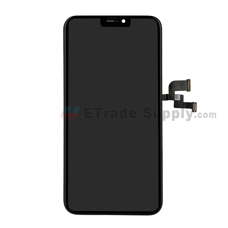 wholesale dealer 5ca28 14962 For Apple iPhone X LCD Screen and Digitizer Assembly with Frame Replacement  - Black - Grade S
