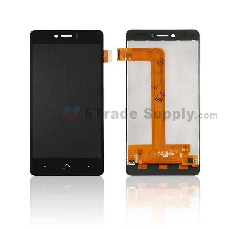 For BQ Aquaris U/U Lite LCD Screen and Digitizer Assembly Replacement -  Black - Grade S+