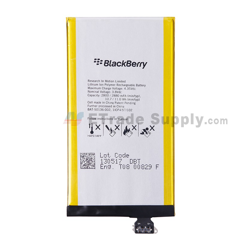 For BlackBerry Z30 Battery Replacement - Grade S+