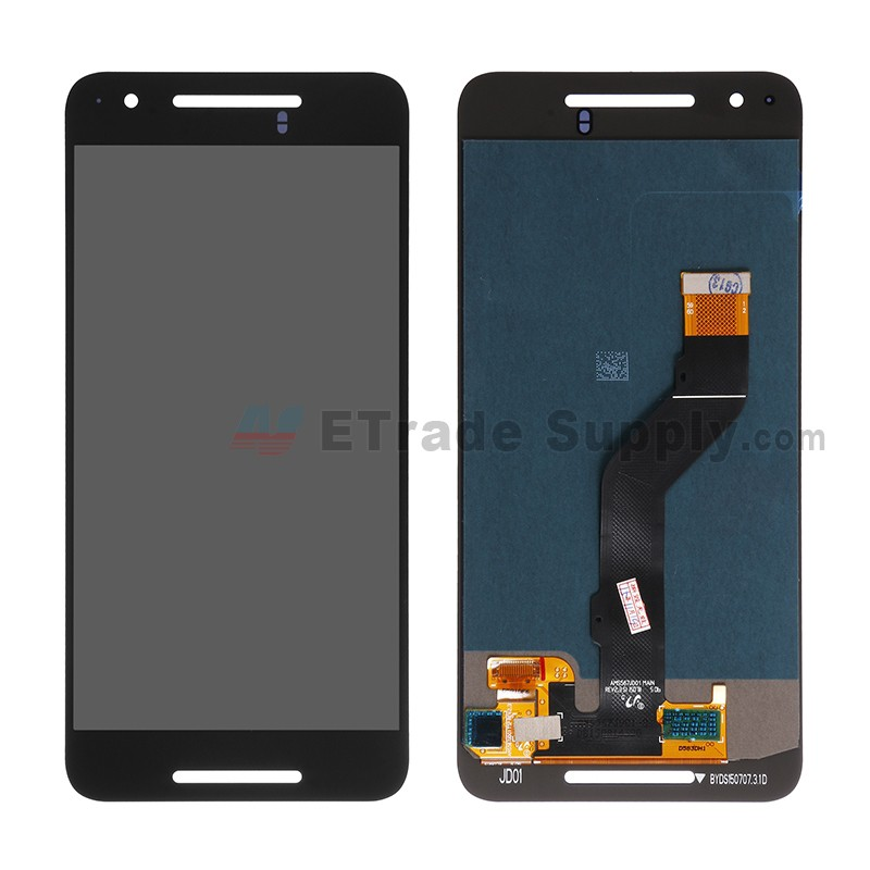 For Huawei Nexus 6P LCD Screen and Digitizer Assembly Replacement - Black -  Without Logo - Grade A