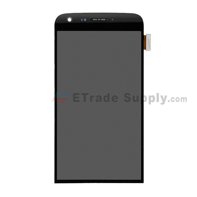 For LG G5 H840/H850 LCD Screen and Digitizer Assembly with Front Housing  Replacement - Black - Without Any Logo - Grade S+