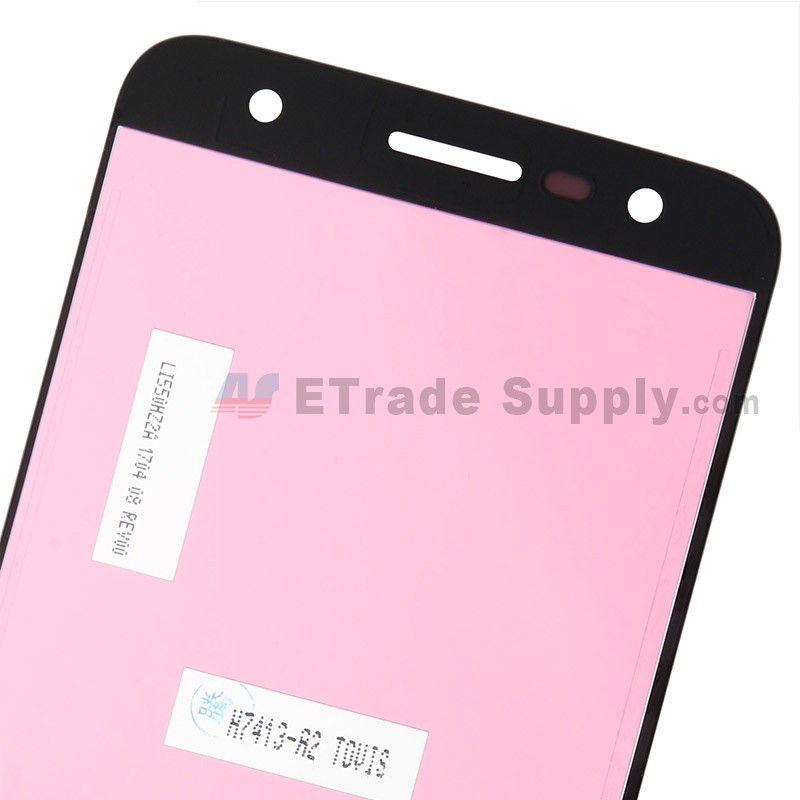 For LG X Power 2 M320G LCD Screen and Digitizer Assembly Replacement -  Black - Grade S+