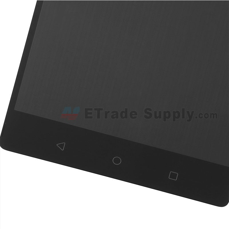 For Lenovo Phab2 PB2-650M LCD Screen and Digitizer Assembly Replacement -  Black - Without Logo - Grade S+
