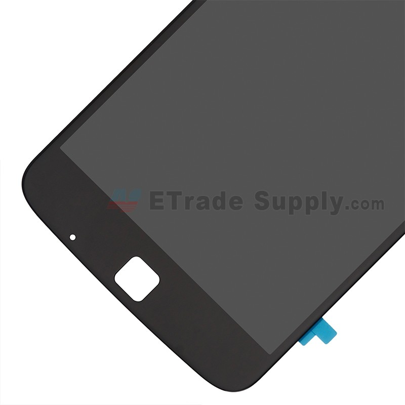 For Motorola Moto Z Play XT1635 LCD Screen and Digitizer Assembly  Replacement - Black - With Logo - Grade R