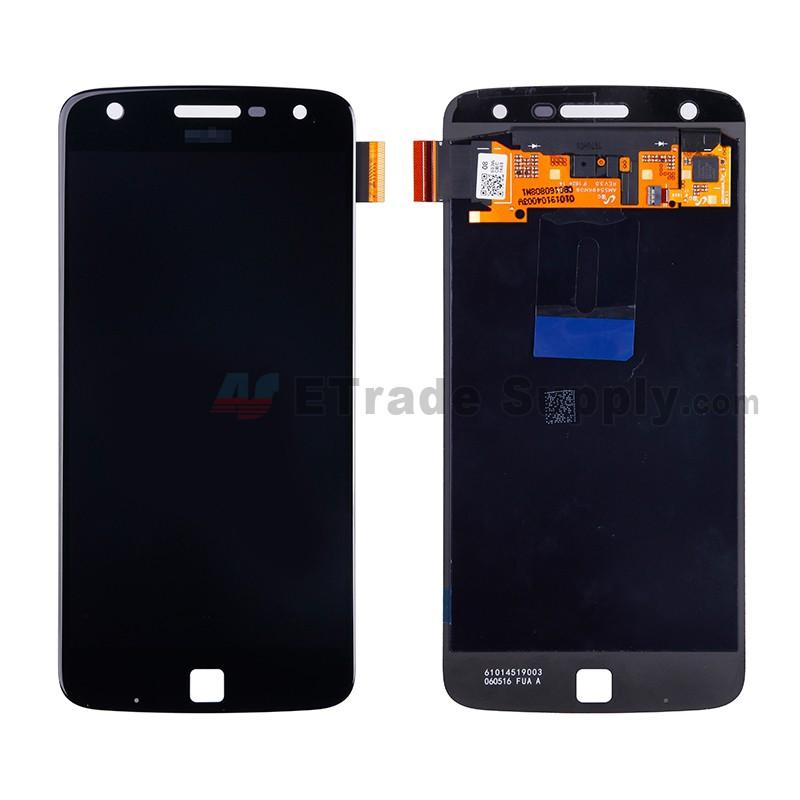 Motorola Moto Z Play XT1635 LCD Assembly Black - ETrade Supply