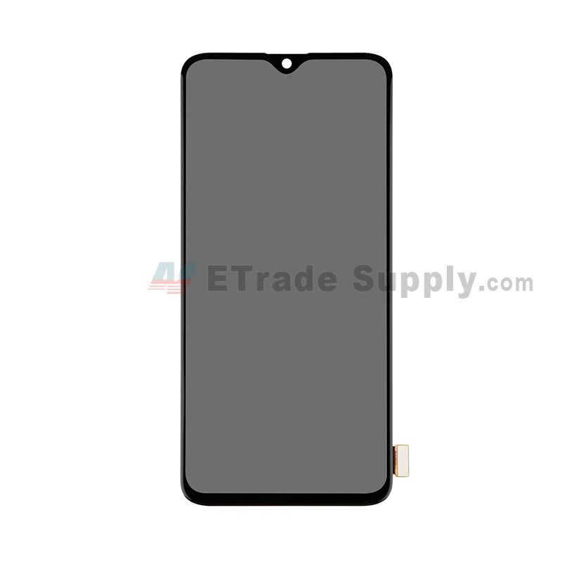 For OnePlus 6T LCD Screen and Digitizer Assembly Replacement - Black -  Without Logo - Grade S+