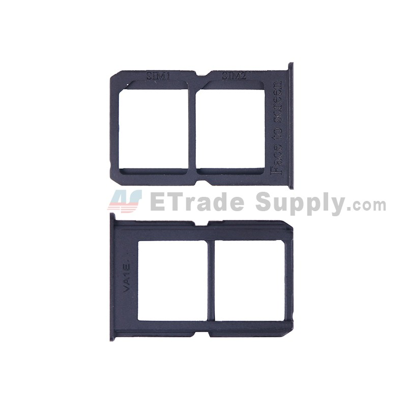 For OnePlus Three SIM Card Tray Replacement (A3003 Version) - Black - Grade  S+