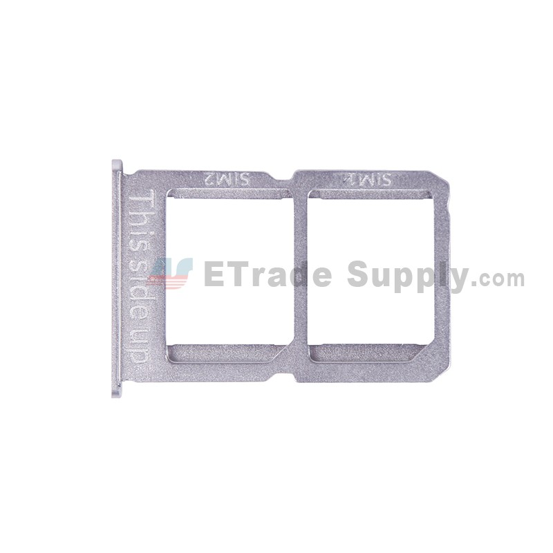 For OnePlus Three SIM Card Tray Replacement (A3003 Version) - White - Grade  S+