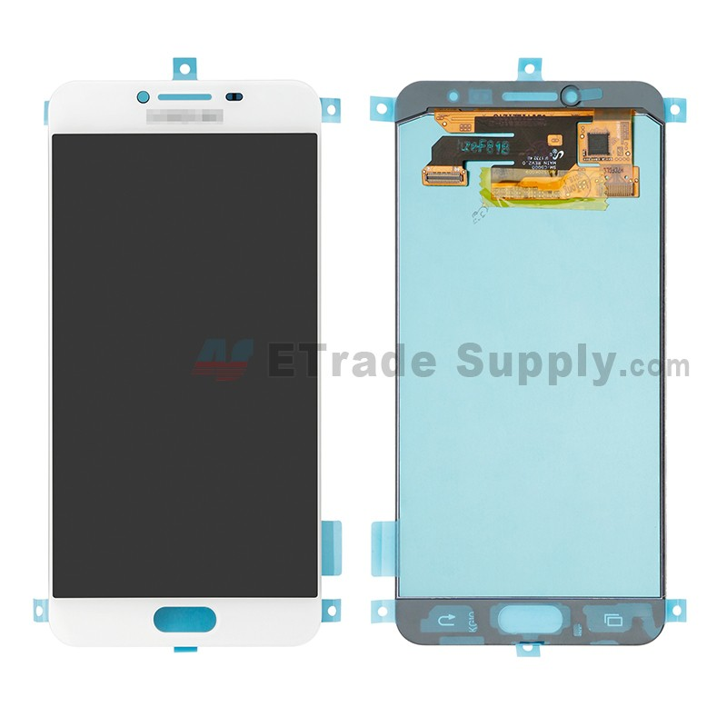 3cd3a8bafe5bb6 ... For Samsung Galaxy C5 SM-C5000 LCD Screen and Digitizer Assembly  Replacement - White ...
