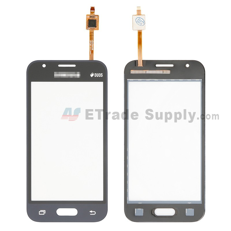 For Samsung Galaxy J1 Mini Prime SM-J106 Digitizer Touch Screen Replacement  - Black - With Logo - Grade S+