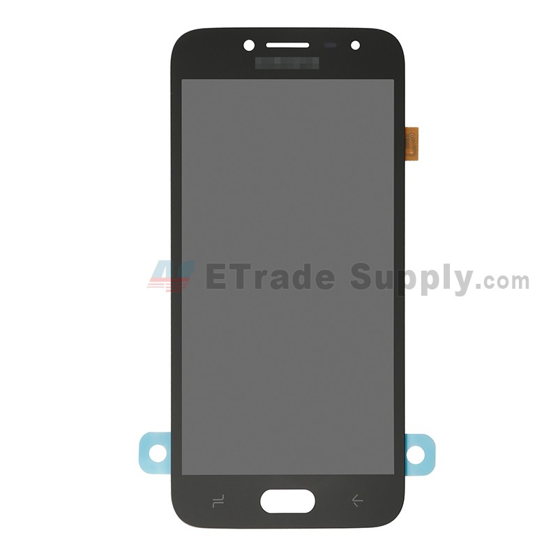 For Samsung Galaxy J2 Pro (2018) SM-J250 LCD Screen and Digitizer Assembly  Replacement - Black - Grade S+
