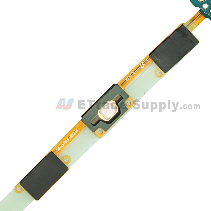 For Samsung Galaxy J5 (2016) SM-J510F Home Button Flex Cable Ribbon with  Earphone Jack Replacement - Grade S+