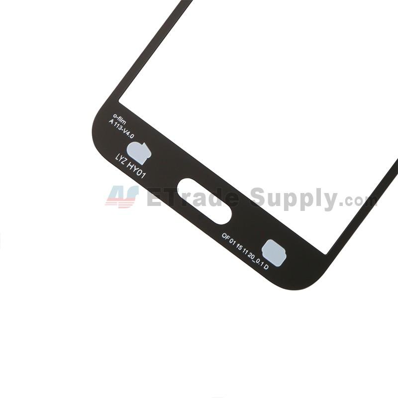 For Samsung Galaxy J5 SM-J500 Glass Lens Replacement - Black - With Logo -  Grade R