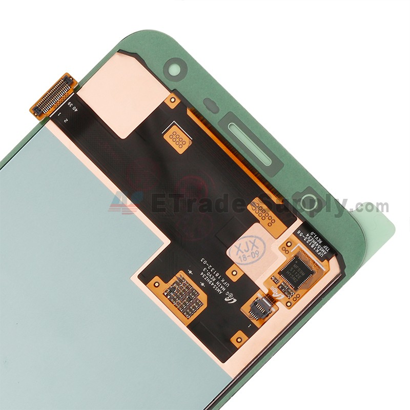 For Samsung Galaxy J7 Duo SM-J720 LCD Screen and Digitizer Assembly  Replacement - Gold - With Logo - Grade S+