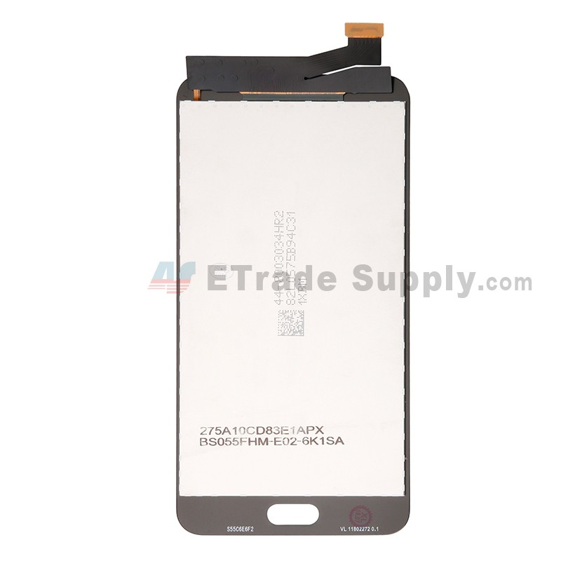 For Samsung Galaxy J7 Prime 2 (2018) SM-G611 LCD Screen and Digitizer  Assembly Replacement - Gold - With Logo - Grade S+