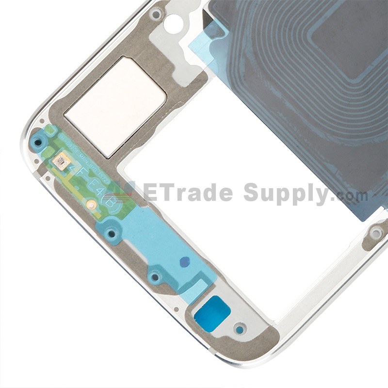 For Samsung Galaxy S6 SM-G920F Rear Housing Replacement - White - Grade S+