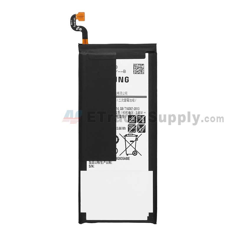 For Samsung Galaxy S7 Edge  SM-G935/G935F/G935A/G935V/G935P/G935T/G935R4/G935W Battery Replacement -  Grade S+
