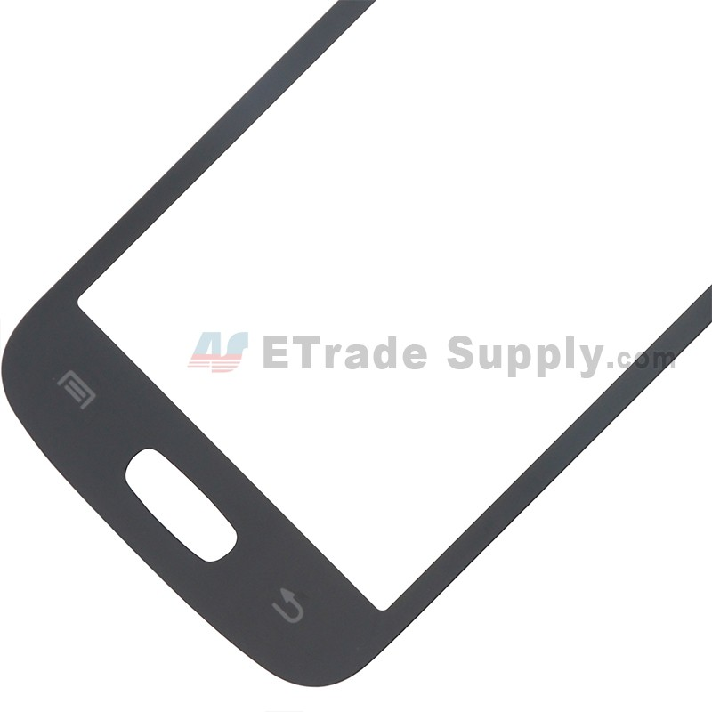 2b1e1a517e813a ... For Samsung Galaxy Star Pro S7260 Digitizer Touch Screen Replacement -  Black - With Logo -