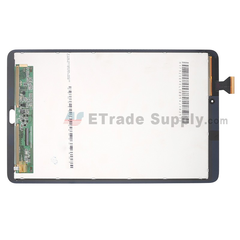 For Samsung Galaxy Tab E 9 6 T560 LCD Screen and Digitizer Touch Screen  Replacement - Black - With Logo - Grade S+