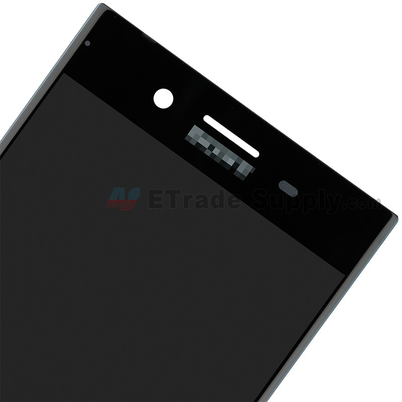 For Sony Xperia XZ Premium LCD Screen and Digitizer Assembly Replacement -  Black - With Logo - Grade S+