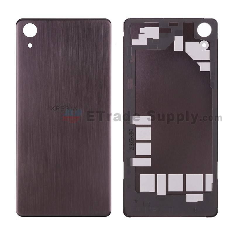 promo code e0c9c 2b9e9 For Sony Xperia X Performance Battery Door Replacement - Black - Grade S+