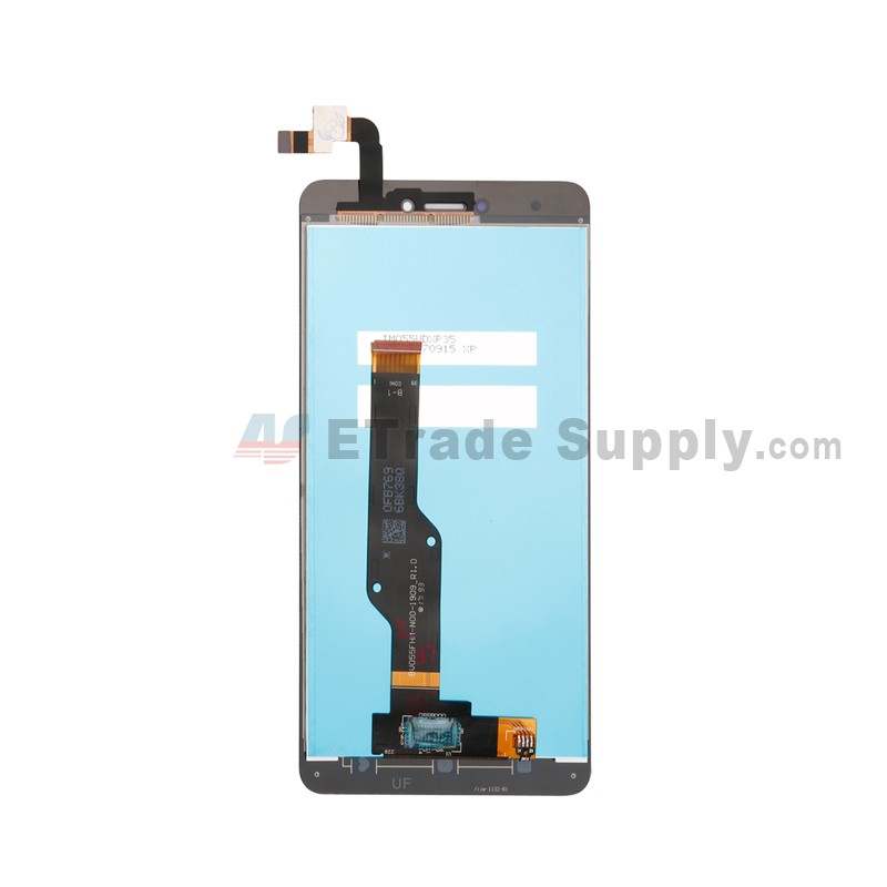 For Xiaomi Redmi Note 4X LCD Screen and Digitizer Assembly Replacement -  Black - Without Logo - Grade S+