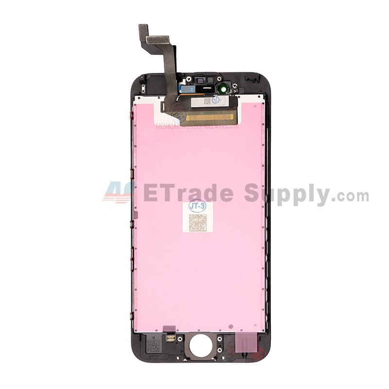 apple iphone 6s lcd screen and digitizer assembly with frame black etrade supply. Black Bedroom Furniture Sets. Home Design Ideas
