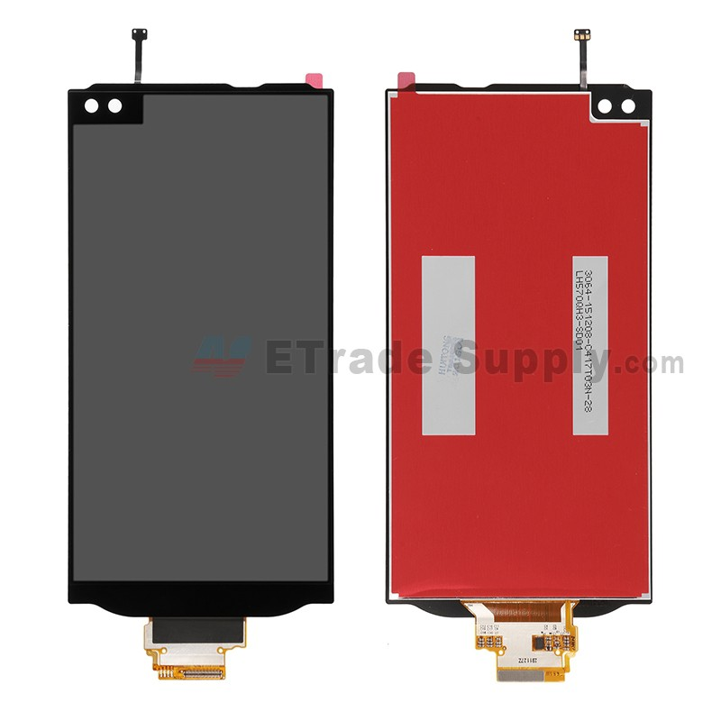 For LG V10 H900/H901 LCD Screen and Digitizer Assembly Replacement - Black  - Without Any Logo - Grade S+