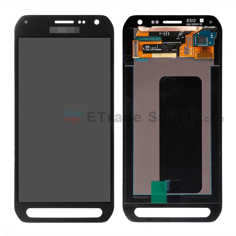 samsung galaxy s6 active sm g890a lcd digitizer assembly black etrade supply. Black Bedroom Furniture Sets. Home Design Ideas