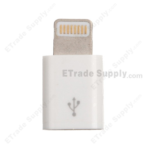 Apple Iphone 5 Data Cable Lightning Connector Adapter Usb