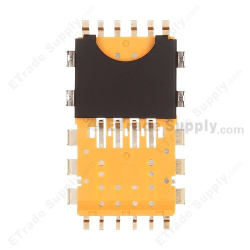 Blackberry bold touch 9900 9930 sim card reader contact etrade supply for blackberry bold touch 9900 9930 sim card reader contact repalcement grade r reheart Choice Image