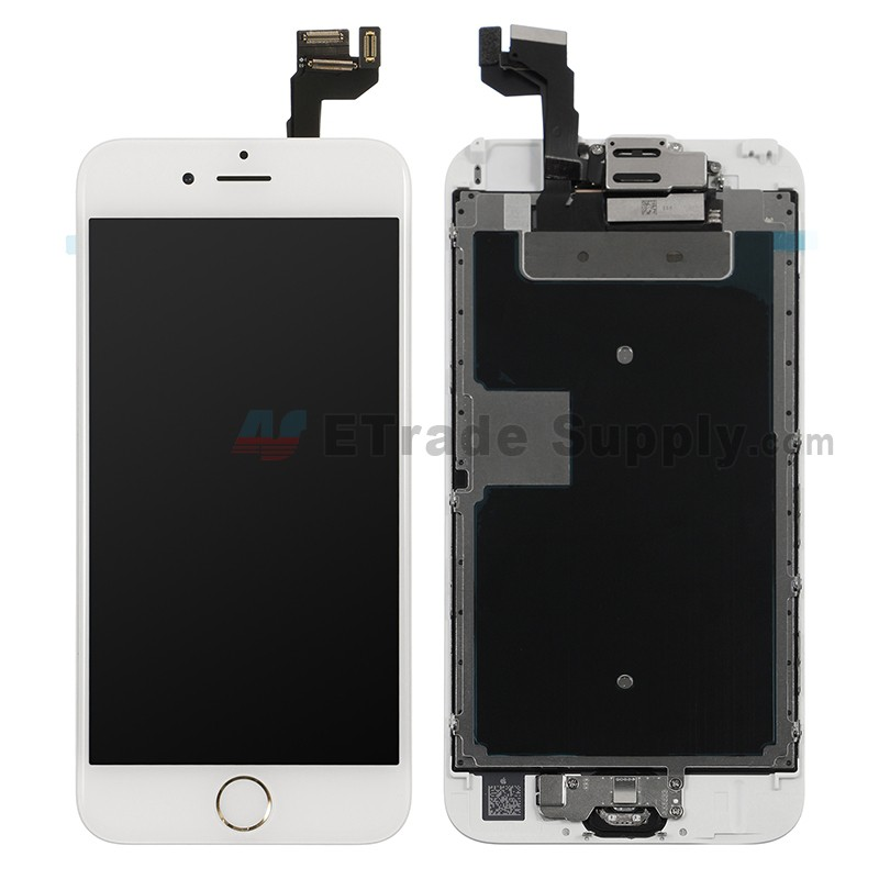ee52f206d13bdc iPhone 6S LCD Assembly with Frame and Home Button Gold - ETrade Supply