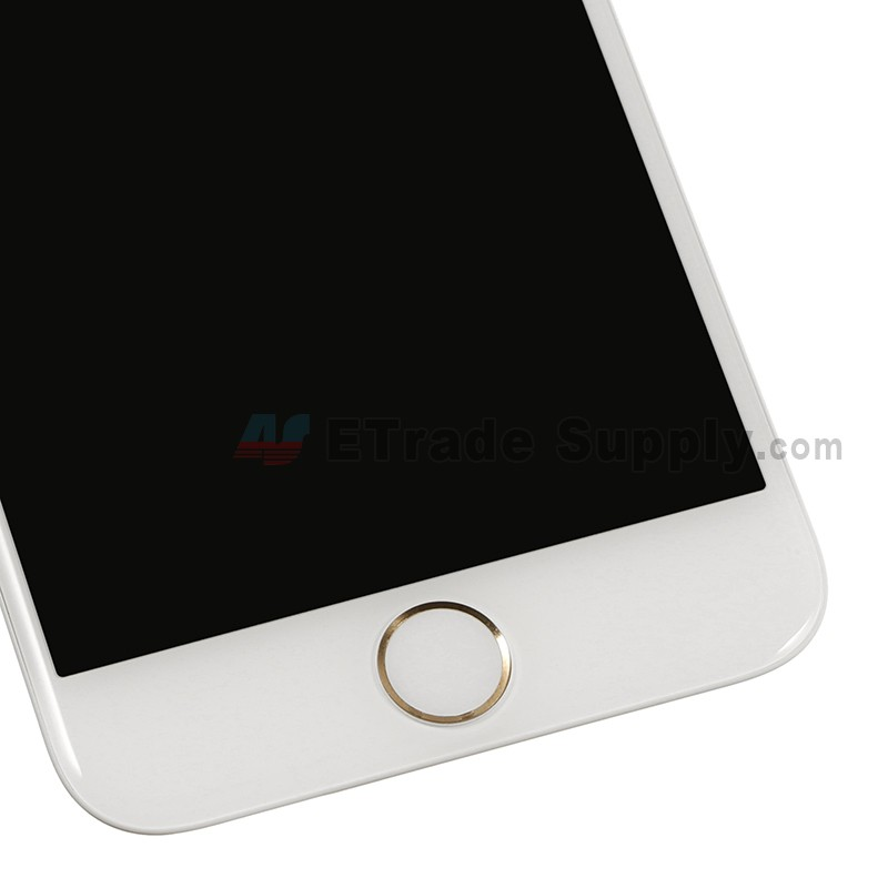 designer fashion 0f515 b3ca2 For Apple iPhone 6S LCD Screen and Digitizer Assembly with Frame and Home  Button Replacement - Gold - Grade R
