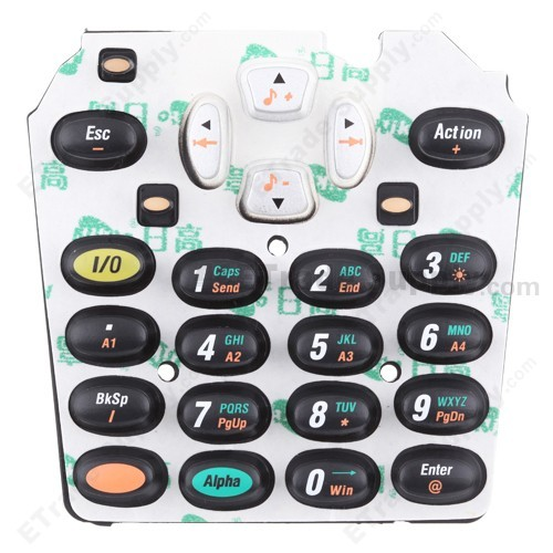 Intermec 700 Series, 700c, 741, 751, 761 Keypad Front Side