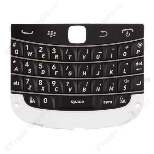 Blackberry bold touch 9900 keyboard assembly etrade supply for blackberry bold touch 9900 9930 keyboard with keypad replacement black grade s reheart Choice Image