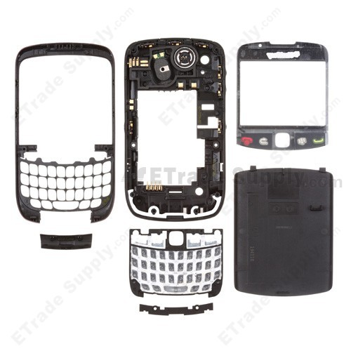 new styles 49941 f55a3 For BlackBerry Curve 3G 9300 Complete Housing Replacement - Purple - Grade  S+