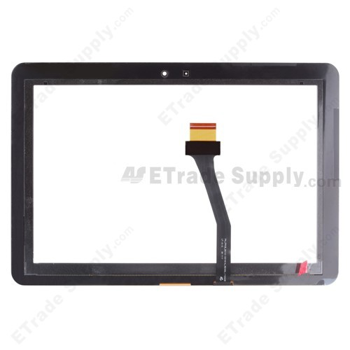 The Back Part of Samsung Galaxy GT-P7500, GT-P7510 replacement Digitizer Touch Panel with Adhesive