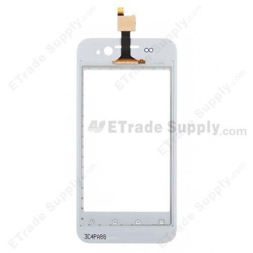 ZTE T736 Digitizer Touch Screen rear side