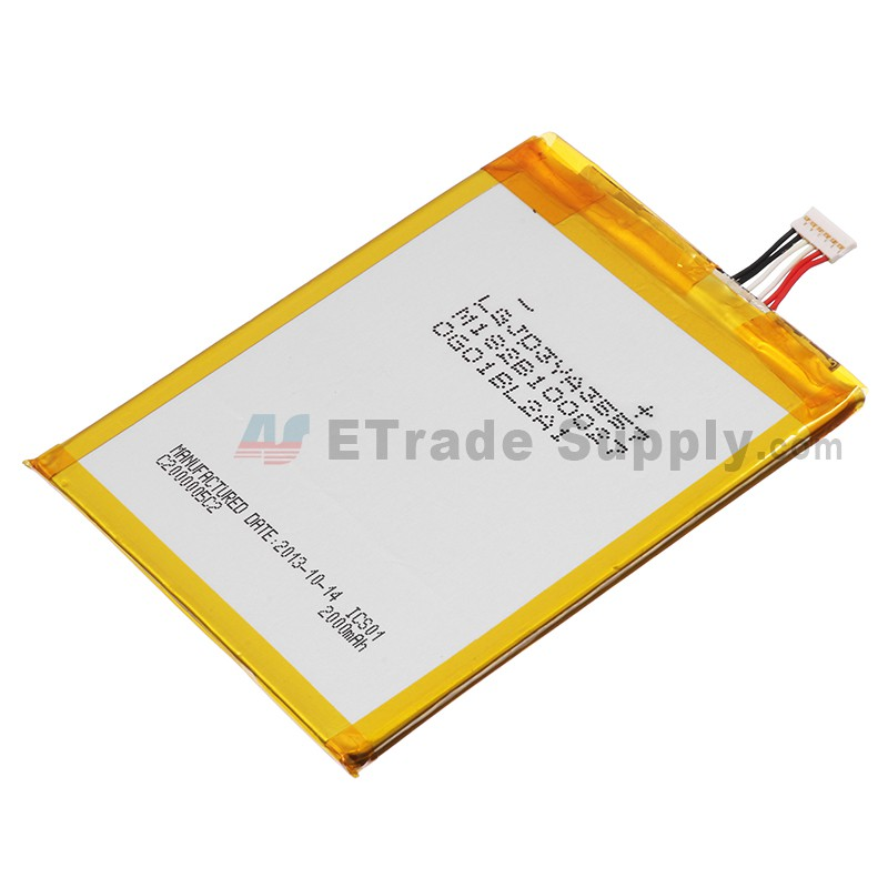 For Alcatel One Touch Idol X OT-6040D Battery Replacement (TLp0202C2,  2000mAh) - Grade S+