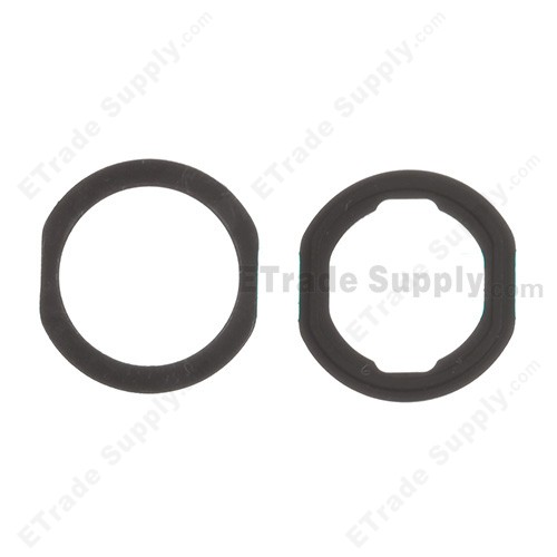Apple iPad Air Home Button Rubber Gasket - Black - ETrade Supply