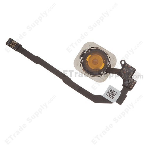pretty nice a5bda 3831f For Apple iPhone 5S/SE Home Button Assembly with Flex Cable Ribbon  Replacement - Black - Grade S+