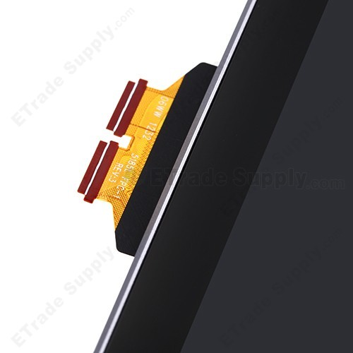 OEM Asus Google Nexus 7 Tablet LCD Screen and Digitizer Assembly with Front Housing - Silver