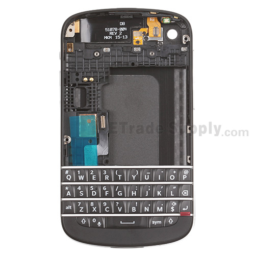 BlackBerry Q10 Housing and QWERTY Keypad Assembly