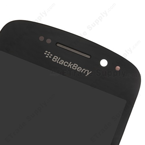 BlackBerry Q10 LCD Screen and Digitizer Assembly Front Side Upper Part