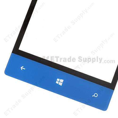 The Bottom Part of the HTC 8S Digitizer Screen