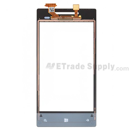 The Back Part of the HTC 8S Digitizer Screen