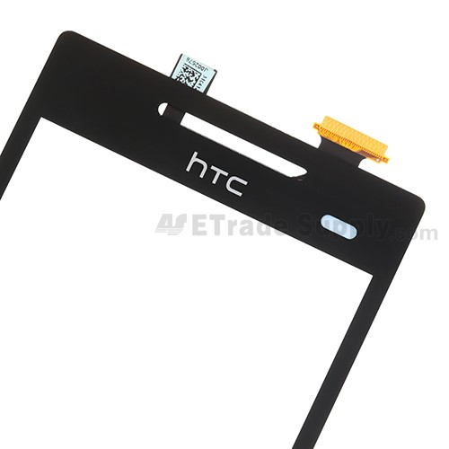 The Top Part of the HTC 8S Digitizer Screen