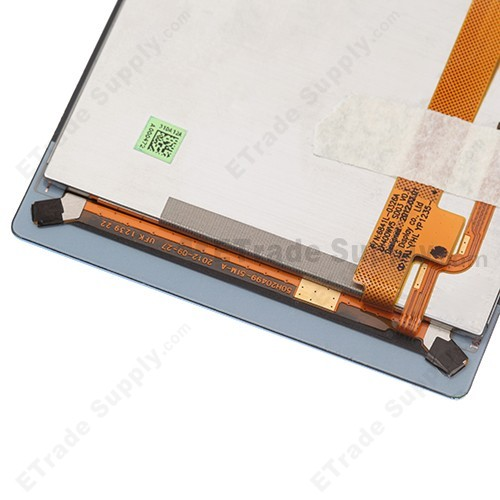 The Bottom Part of the HTC 8S Screen Assembly with Navigator Flex Cable Ribbon